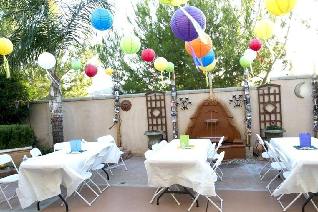 10 Amazing Rustic Backyard Wedding Party Decoration Ideas Bbq