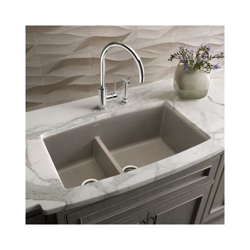 Kitchen Sink 33 X 19 Performa 33 x 19 2 basin undermount kitchen sink sinks bowls blanco 441474 performa 19 inch x 33 inch double basin granite undermount residential kitchen sink available in various colors black workwithnaturefo