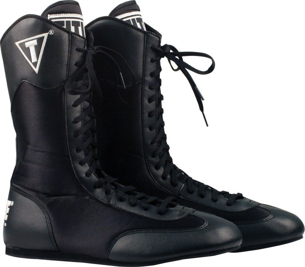 Title High Top Boxing Shoes Boots