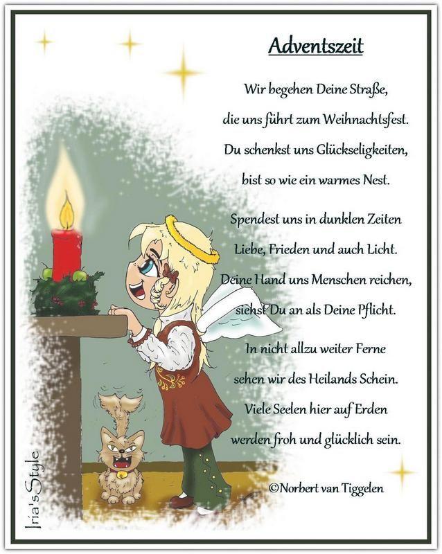 pin auf gedichte zur advents und weihnachtszeit