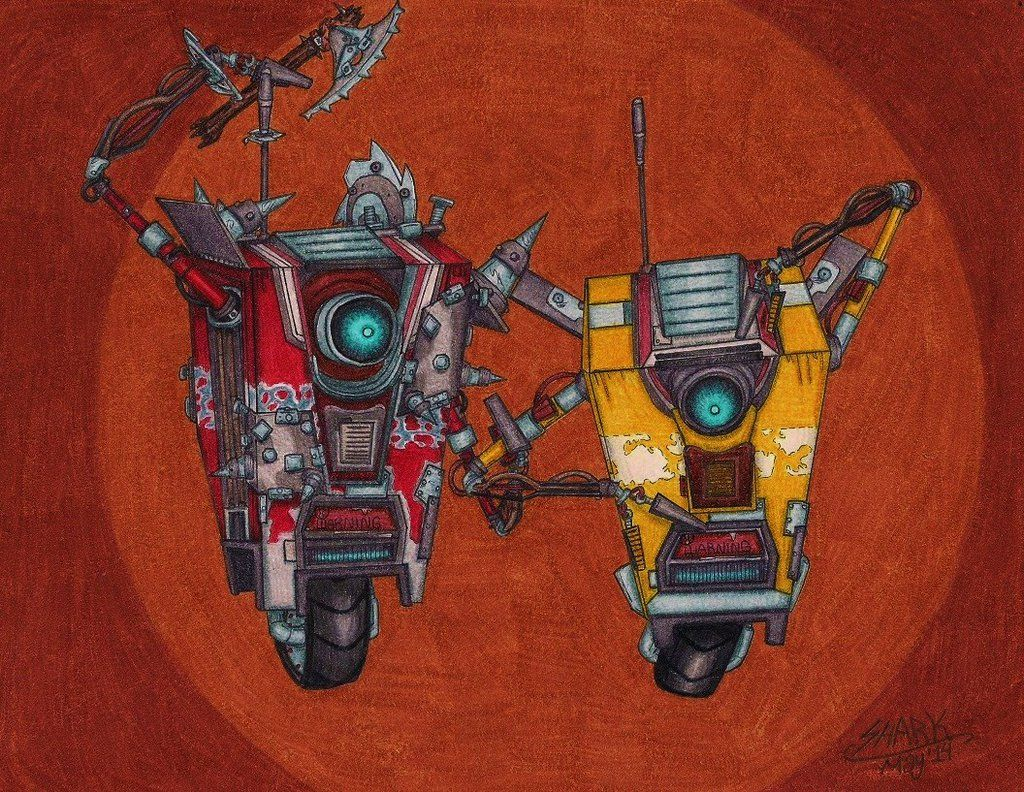 Draw A Claptrap (Or Two) by