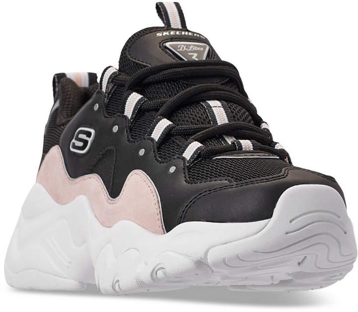 Skechers Women D'Lites 3.0 Walking Sneakers from Finish Line