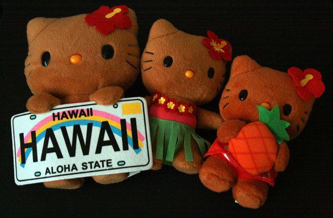 Hello Kitty Hawaiian Coloring Pages : Hawaiian hello kitty hk obsession pinterest hello kitty kitty