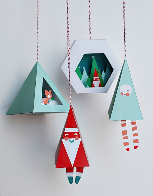 printable holiday ornaments by smallful gorgeous