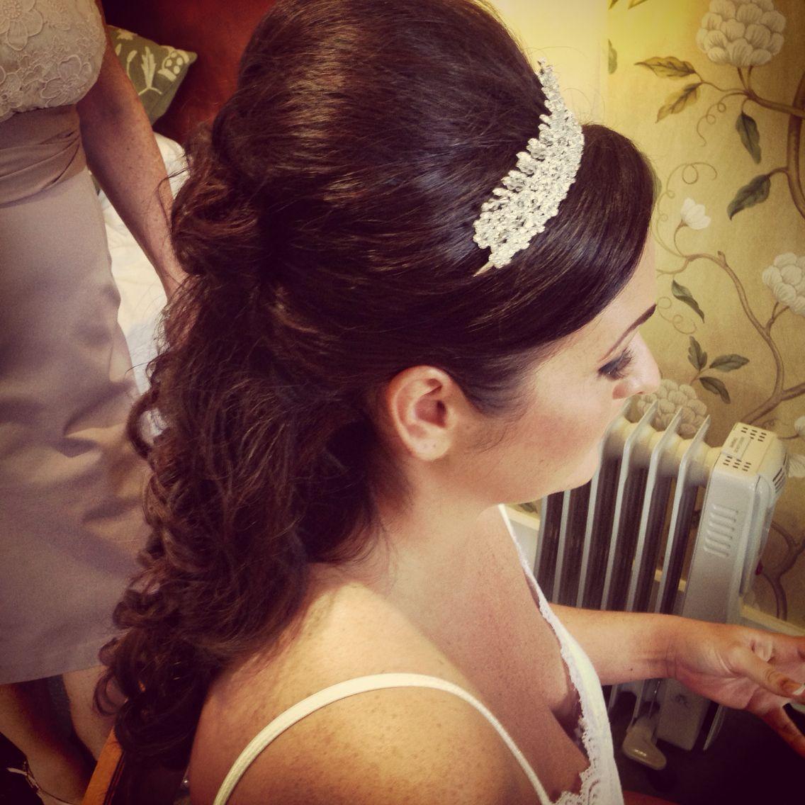 Beehive Hairstyles For Wedding: Princess Hair, Beehive, Half Up Half Down, Extensions