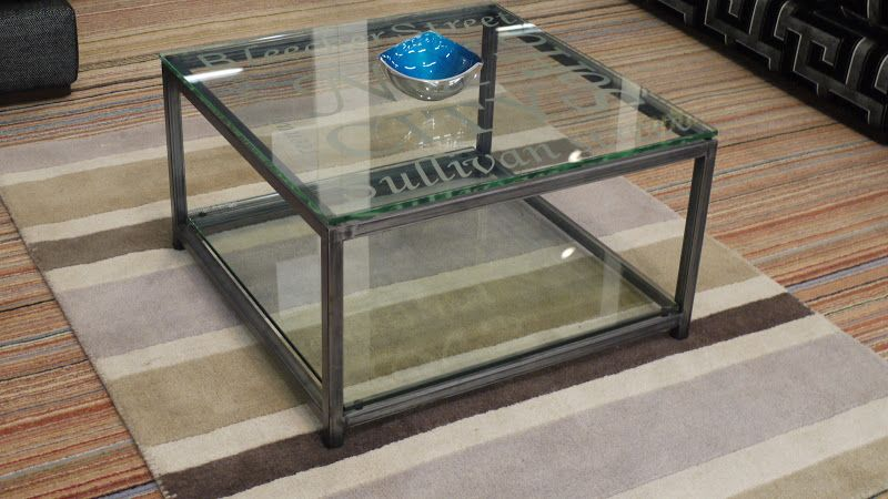 Side Tables : Riviera Maison Soho Glass U0026 Metal Coffee Table