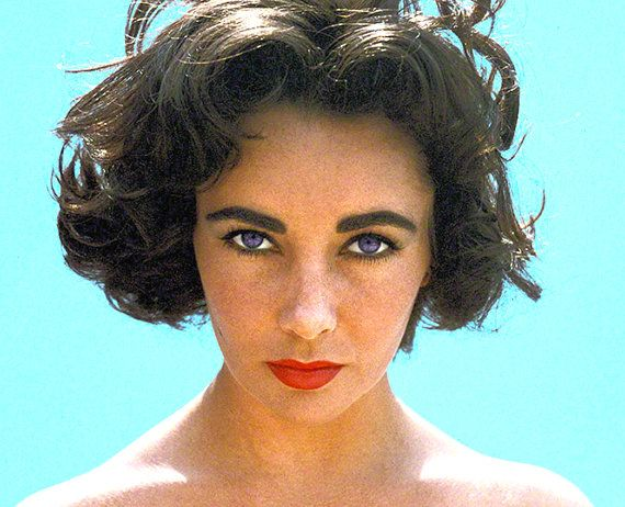 ELIZABETH TAYLOR • Classic Portraits  • Limited Editions / Digitally Restored • Printed On Heavy, High Quality, NonFade Photographic Paper. #hollywoodgoldenage