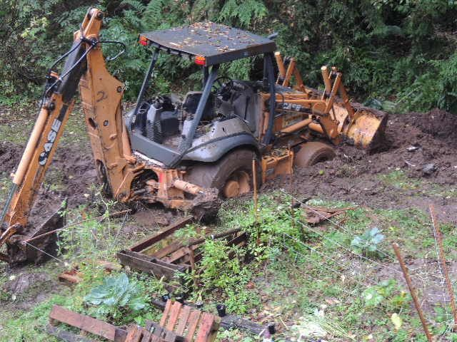 Building The Drainage Swales On Our Property Oregon Oregon Coast Food Forest