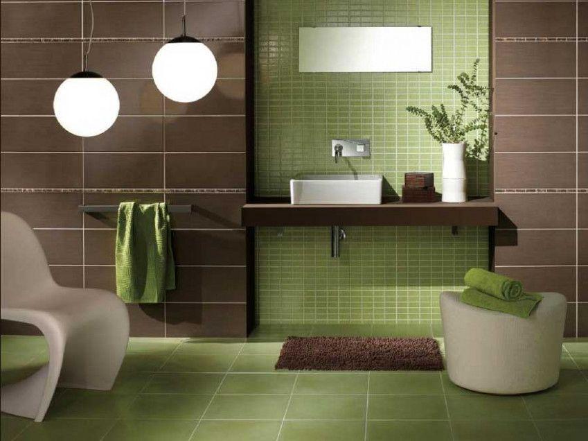 17 Klischees Uber Badezimmer Modern Grun Die Nicht Immer Stimmen Badezimmer Ideen Brown Bathroom Brown Bathroom Decor Green Tile Bathroom