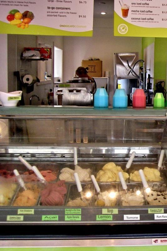 Ono Gelato - Incredible Ice Cream in Maui!! Amazing flavors!! Lahaina, Kehei locations.