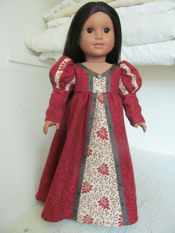 American Girl doll Renaissance or princess by ExquisitelyUpcycled