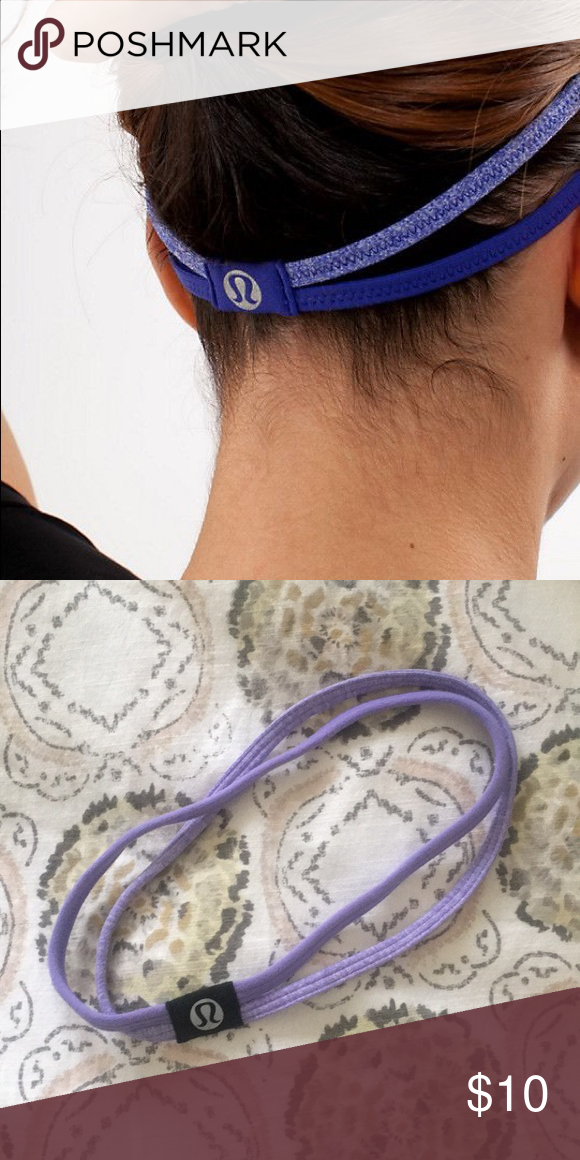 9a5db7a51d9 Lululemon headband Lululemon double strap headband lululemon athletica  Accessories Hair Accessories