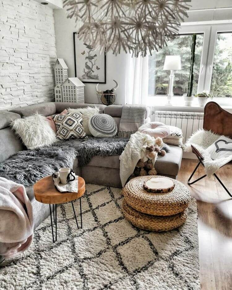 Bohemian Style Rustic Home Decor Ideas Rustic Home Decor And Design Ideas Earthy Living Room Earthy Home Decor Grey Couch Living Room