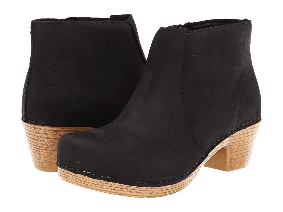 Boots Black Milled Nubuck