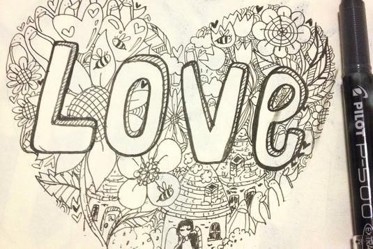 Creative Doodling For Adults Doodles Drawing Class Love Doodles