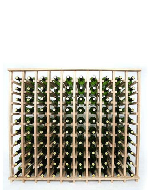 10 Column 100 Bottle Base Wine Rack In 2020 Keller