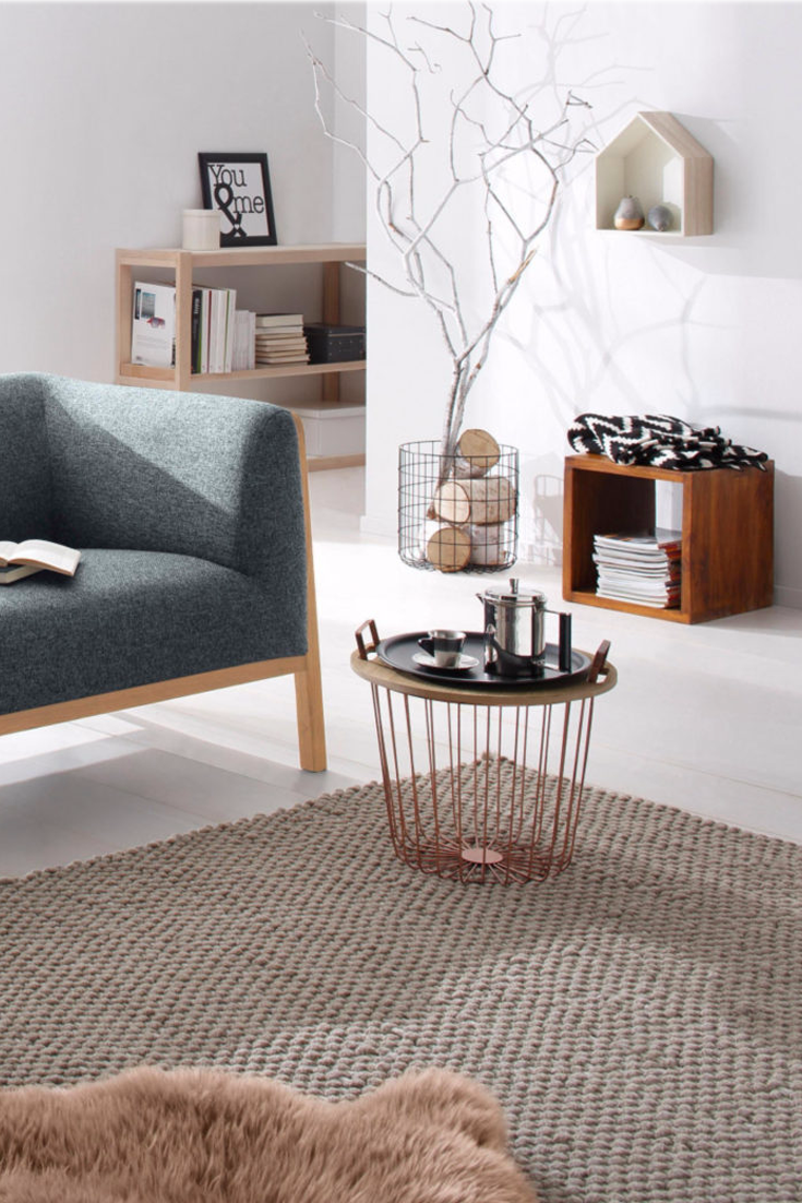 Tolles Wohnzimmer im skandinavischen Stil   Scandi Style @ OTTO ...