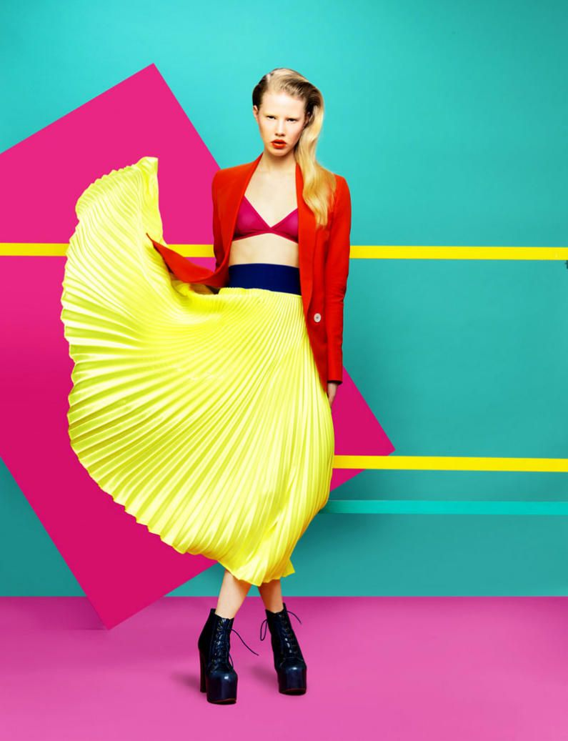 Bright Colour Blocking Trend Bright Colour Blocking Trend new pics