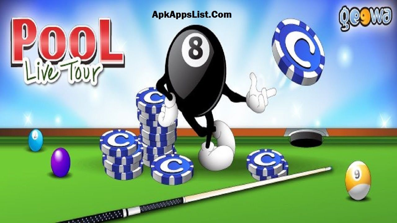 Pool Live Tour Hack Apk Mod 2015 Android Game Download