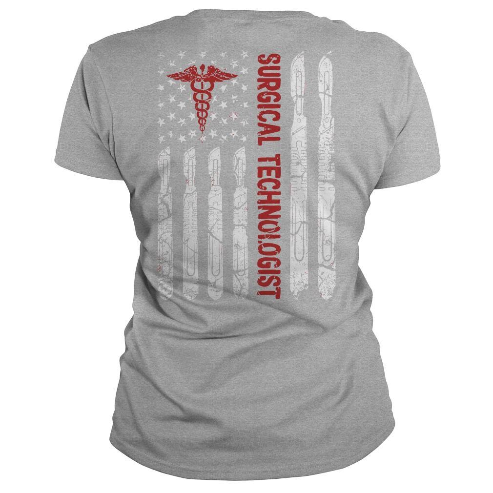 Surgical technologist flag shirt #surgicaltechnologist