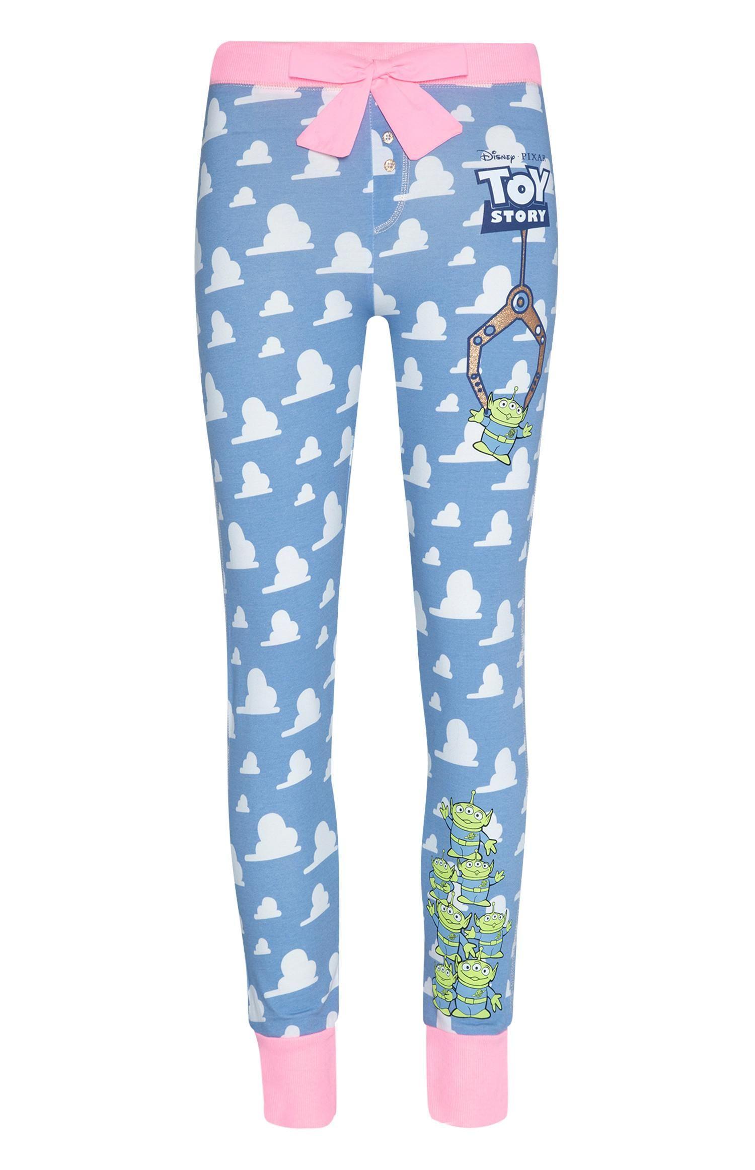 Disney TOY STORY Pyjamas Pjs Fleece Size XS   6-8  Primark Ladies New