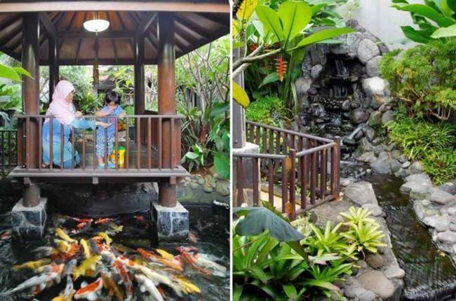 iDEA Online - Eksterior - Artificial Rock Garden with Gazebo
