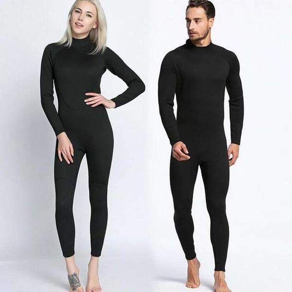 988e350d07 One Piece Back Zip Neoprene 2mm Full Wetsuit in 2019 | Couples ...