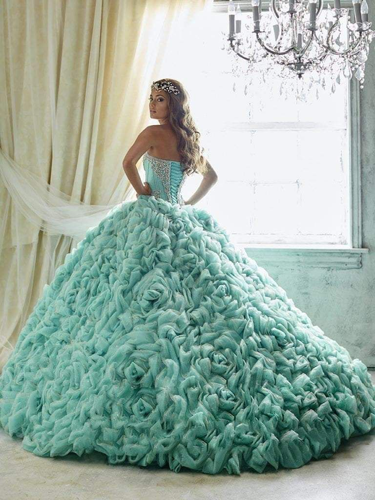Quinceanera Collection - 26800 Crystal Beaded Rose