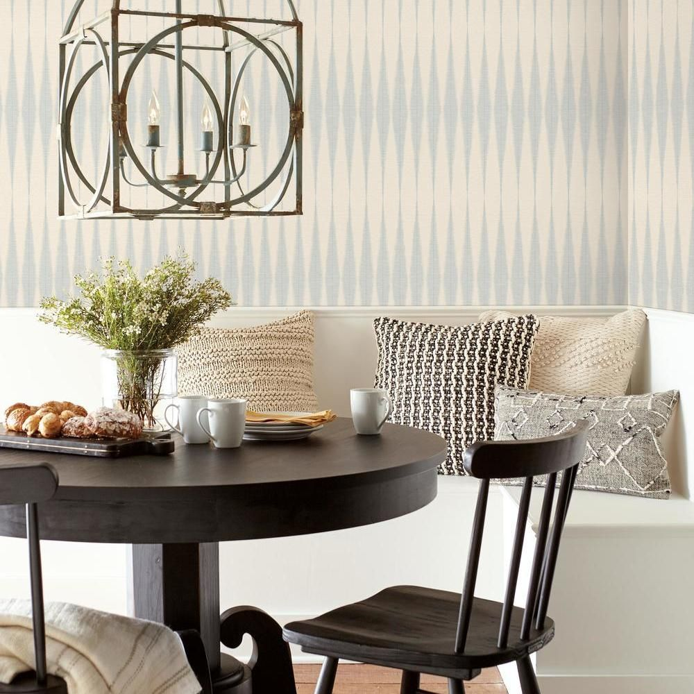Magnolia Home By Joanna Gaines Pick Up Sticks Black Paper Peelable Roll Covers 34 Sq Ft Psw1020rl The Home Depot In 2020 Herringbone Wallpaper Magnolia Homes Joanna Gaines Wallpaper