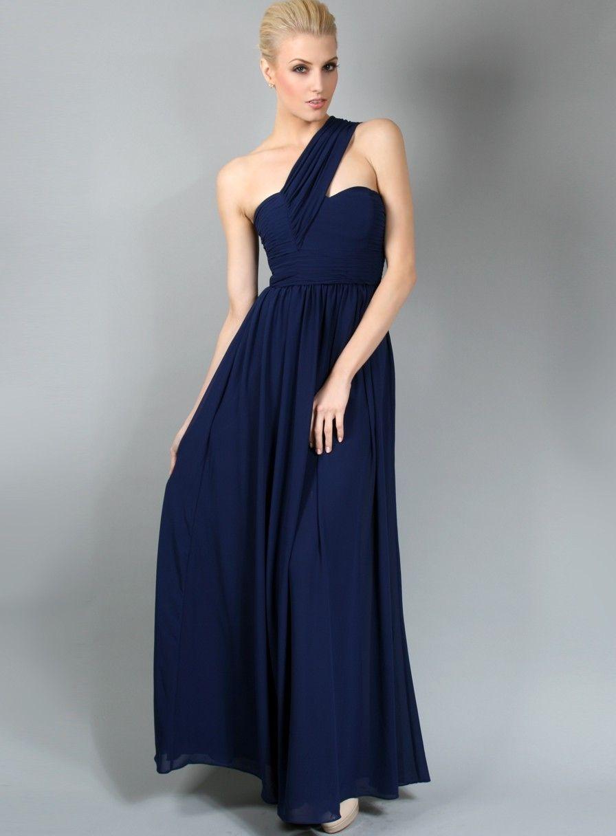 Navy Blue Lace Wedding Dress | Stunning Navy Blue Lace Bridesmaid ...