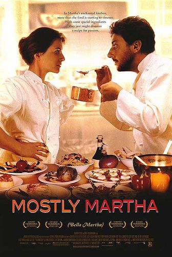 I saw this movie in 2002 on DVD. I really enjoyed it, being a Castellitto fan. An Italian movie fan really. I just saw an add on TV for a movie with Zeta-Jones and Eckhart. A remake of an already excellent movie. Why remake it if it won 14 awards? And why select Zeta-Jones and Eckhart as key characters? They probably never ever cooked themselves. Typical American idea-less copy cat action to squeeze the last bit of money out of a concept. It aggravated the ... out of me. Tasteless!