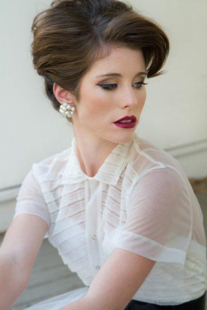1001+ idées chic de look années 60 Vintage wedding hair