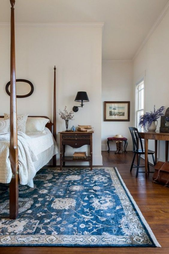 Decorating With Colorful Rugs   Farmhouse bedroom decor ...