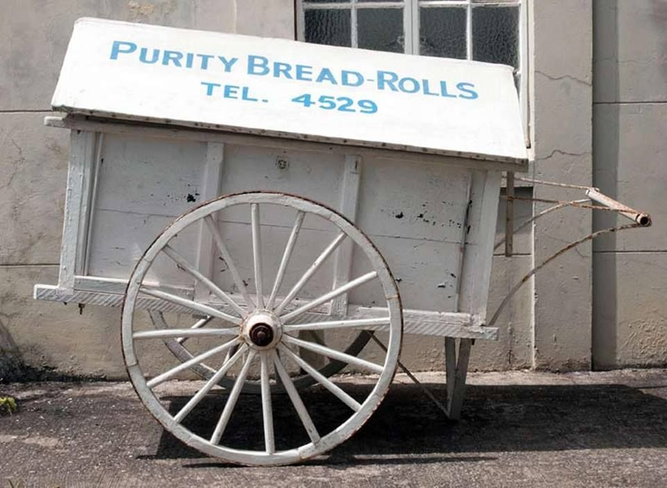 The Purity Bakery Ole Time Bread Cart Can You Remember Seeing Any Of These If You Our Culture Beaches P Barbados The Beautiful Country Caribbean Islands