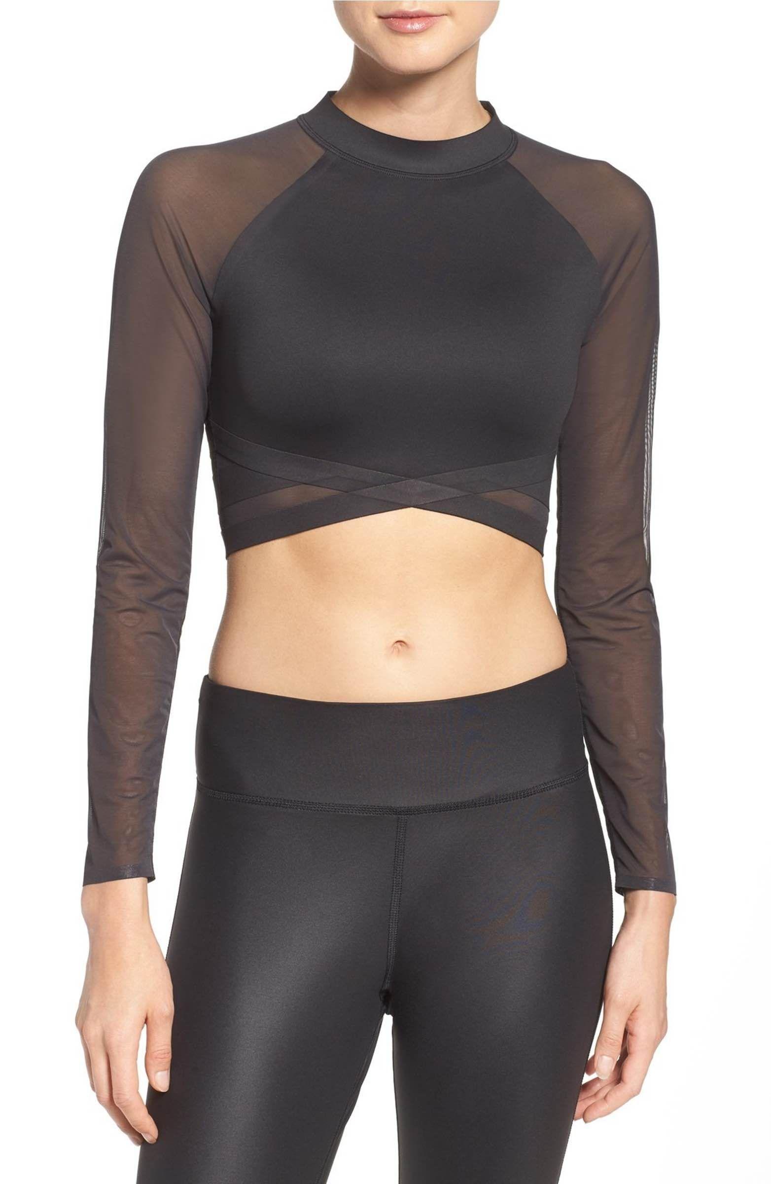 6b4ddbda Main Image - Reebok Cardio Crop Top | Clothes Wishlist | Womens ...