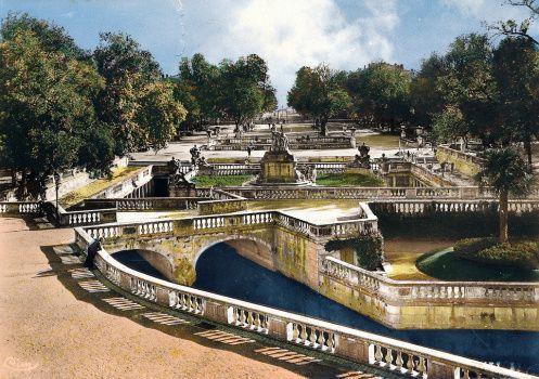 Jardin De La Fontaine Nimes Huit Photographies Jardins De La