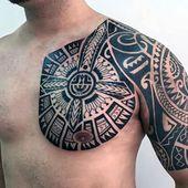 Photo of Meilleures conceptions de tatouage de poitrine tribale – Meilleurs tatouages de poitrine pour les hommes: Tatouage de poitrine cool …