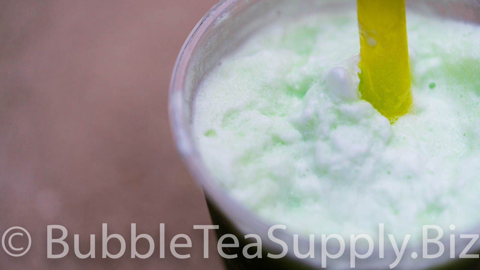 How to Make Honeydew Smoothie Bubble Tea #honeydewsmoothie