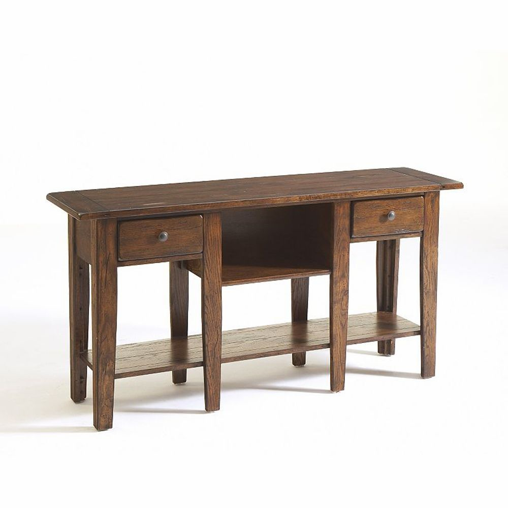 Broyhill Attic Heirlooms Sofa Table In 2020 Broyhill Furniture Rustic Sofa Tables Sofa Table