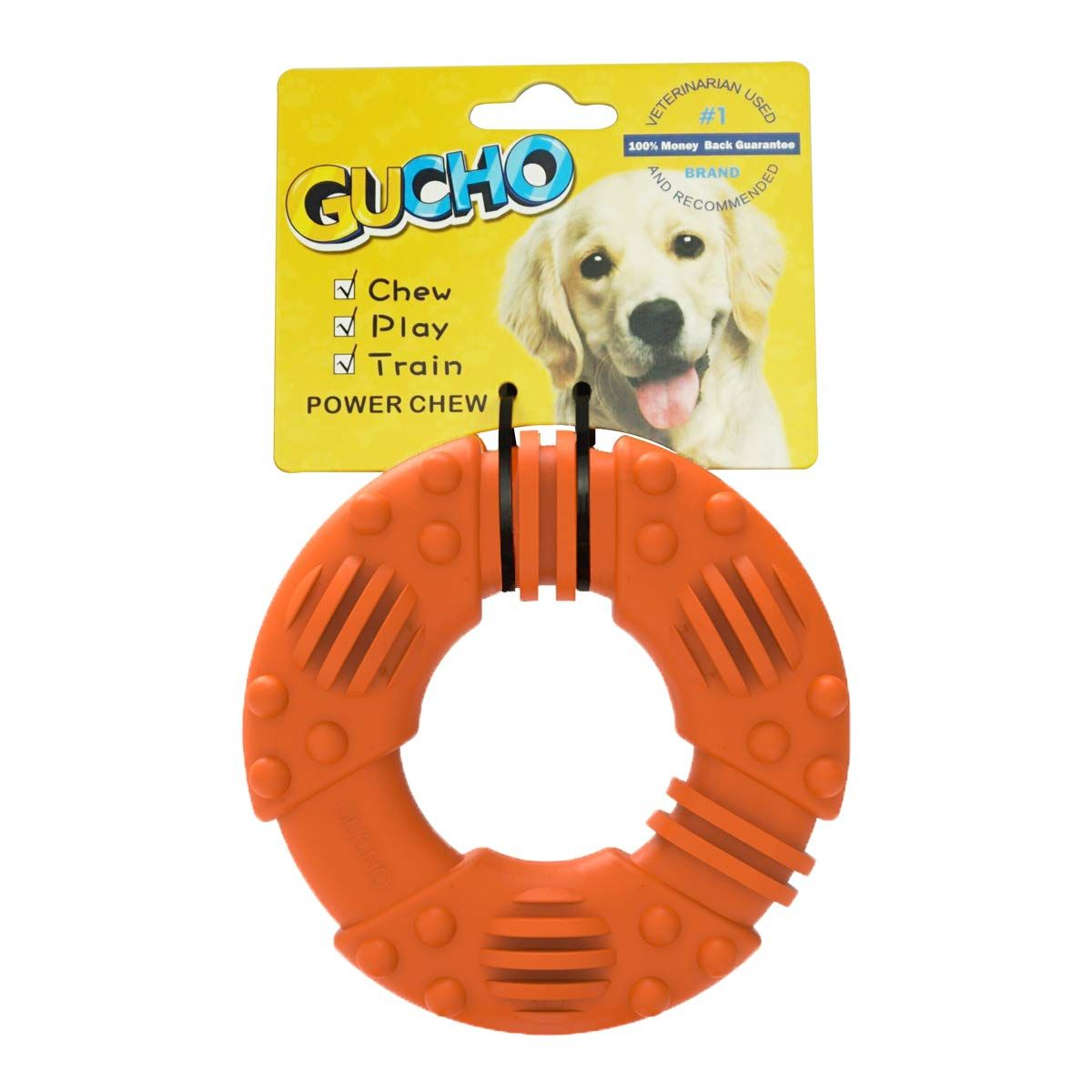 Gucho Durable Dog Chew Toys For Aggressive Chewers Lifetime