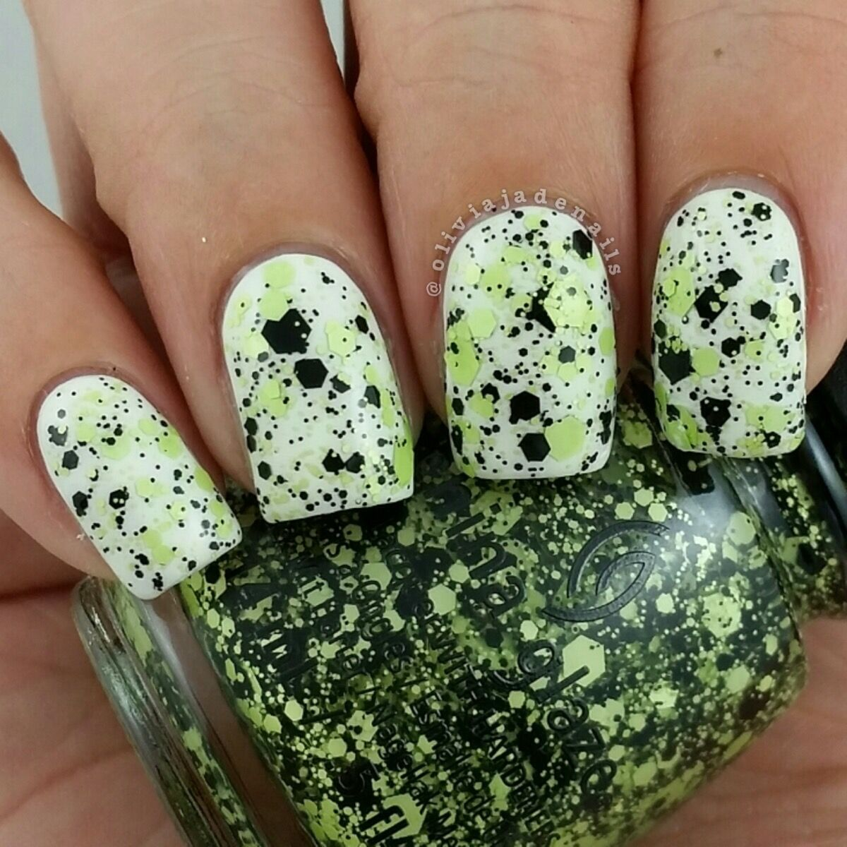China Glaze Something\'s Brewing swatched by Olivia Jade Nails ...