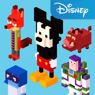 Online Games Disney Lol Crossy Road Adventure Games For Android Disney Magic Kingdom