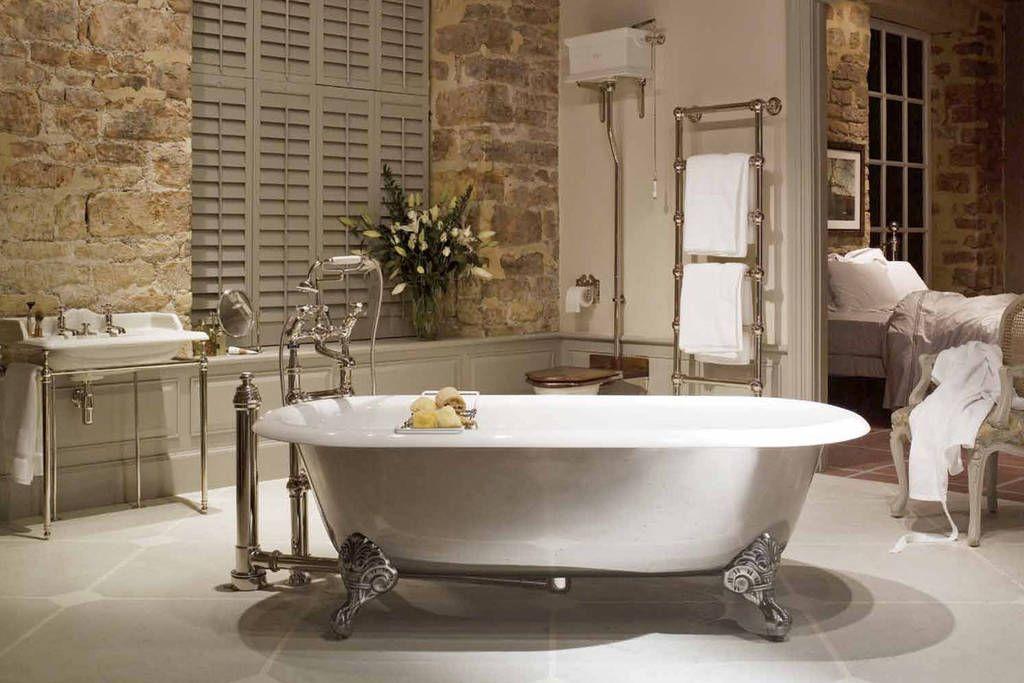 Klassieke badkamers van eenvoudig tot chic thuis