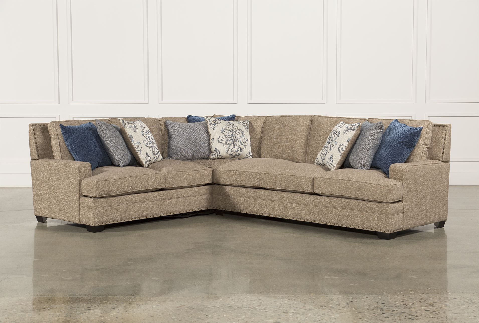 pamela 2 piece sectional wraf sofa
