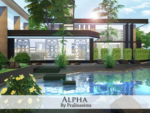 Sims 4 CC's - The Best: House by Pralinesims