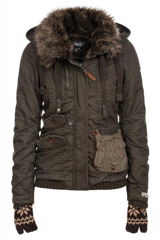 khujo winter jacket. | Clothes & Stuff | Pinterest