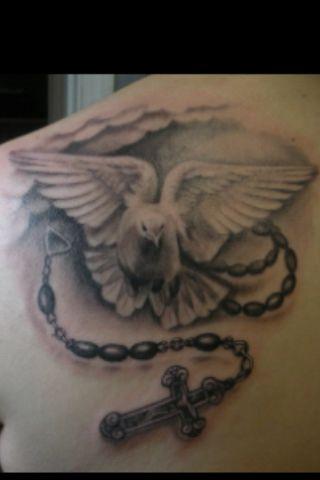Dove Tattoo Tatts Pinterest Dove Tattoos Tattoos And Back Tattoos