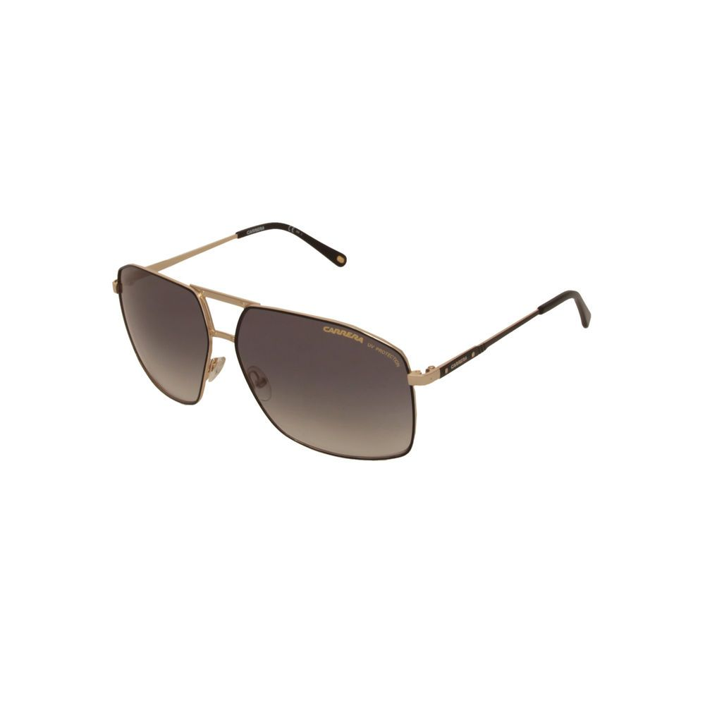 NEW Carrera 19 Ku7 Black Gold Square Aviator Sunglasses
