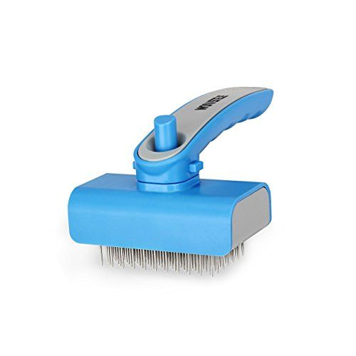 Winsee Self Cleaning Slicker Brush Dog Brush For Grooming Perfect