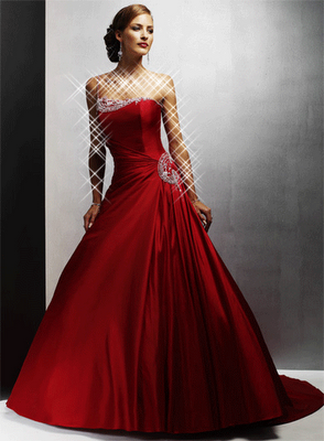 Scarlet Ball Dress